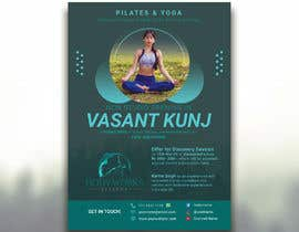 #29 for Design a Pilates and Yoga Studio Flyer by nibirnowshad
