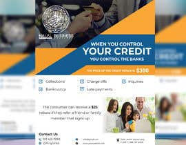 #71 for Create a flyer for credit repair by shahinft