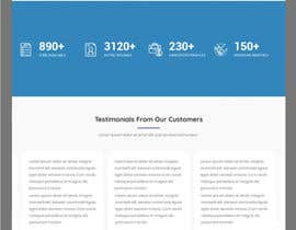 #7 for Frontend UI Design for New Website by hosnearasharif