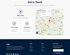 #34 for Single Page Basic Business Info Website by bokkarsiddek