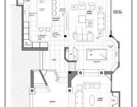 Nro 40 kilpailuun Floor plan Redesign käyttäjältä yiselaky