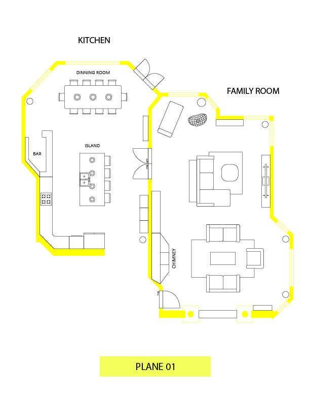 Konkurrenceindlæg #                                        35                                      for                                         Floor plan Redesign