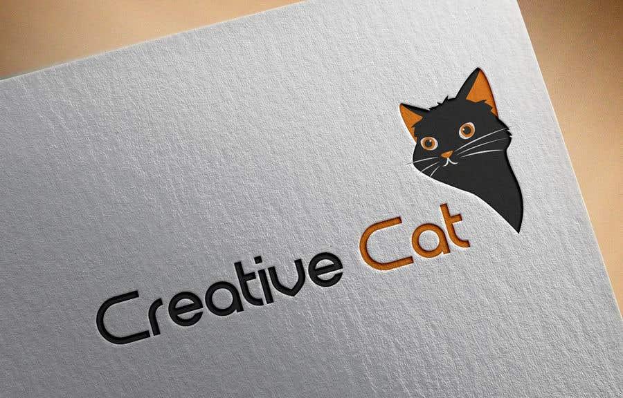Penyertaan Peraduan #                                        45                                      untuk                                         Creative Logo for Creative cat