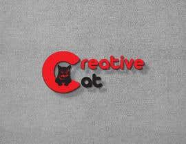 #71 pentru Creative Logo for Creative cat de către idealsohag