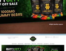 #164 for Banner for Buy 1 Get 1 Half Off  Sale on CBD Gummies by kreativedesizn