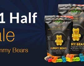 #92 for Banner for Buy 1 Get 1 Half Off  Sale on CBD Gummies by naymulhasan670