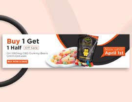 #66 for Banner for Buy 1 Get 1 Half Off  Sale on CBD Gummies by suvochandra