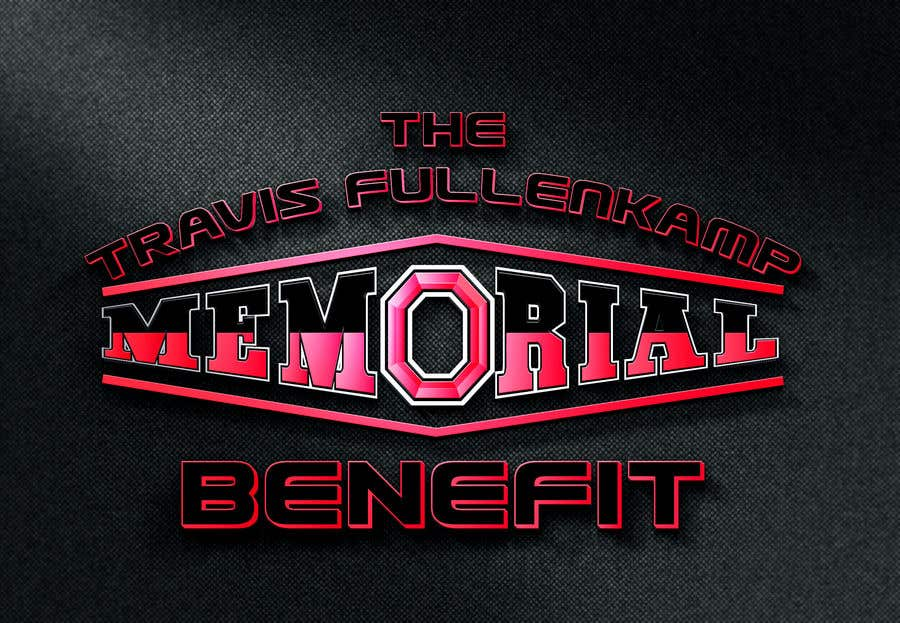 """Bài tham dự cuộc thi #                                        14                                      cho                                         The event name is """"The Travis Fullenkamp Memorial Benefit"""".  The theme of this event is Ohio State. Please incorporate the attached file into the logo. Colors should be gray, white, black and red."""