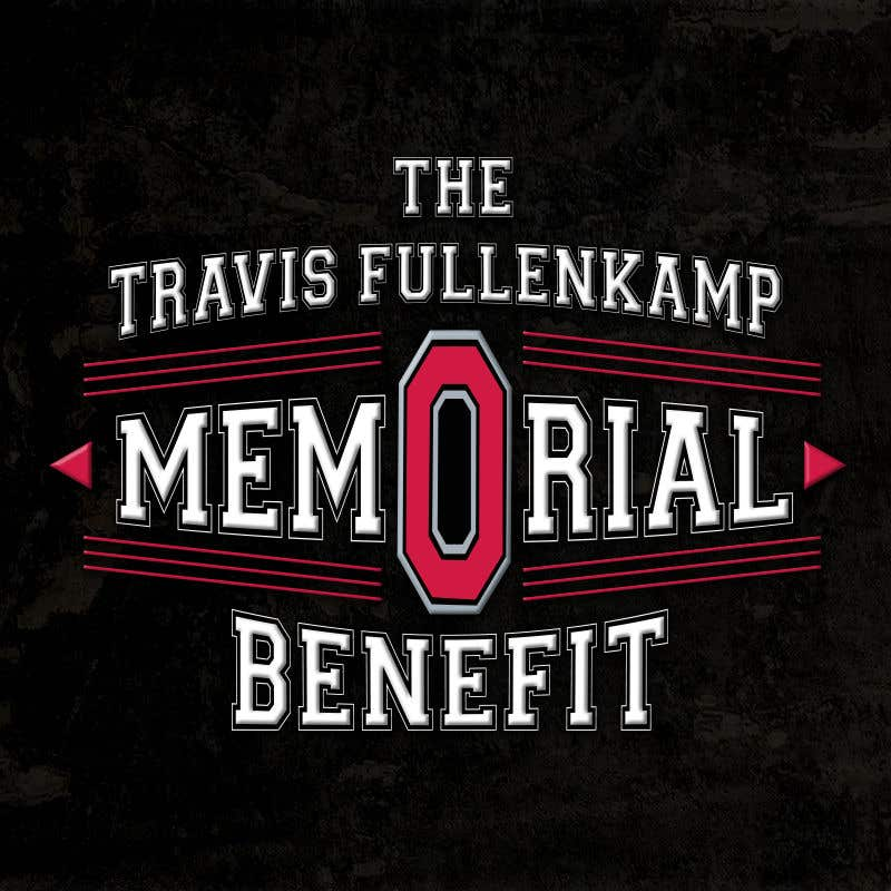 """Bài tham dự cuộc thi #                                        21                                      cho                                         The event name is """"The Travis Fullenkamp Memorial Benefit"""".  The theme of this event is Ohio State. Please incorporate the attached file into the logo. Colors should be gray, white, black and red."""