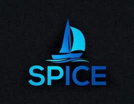 Nro 59 kilpailuun Create a logo for a yacht named Spice + Find the right Font and color for the name at the back of the yacht käyttäjältä hawatttt