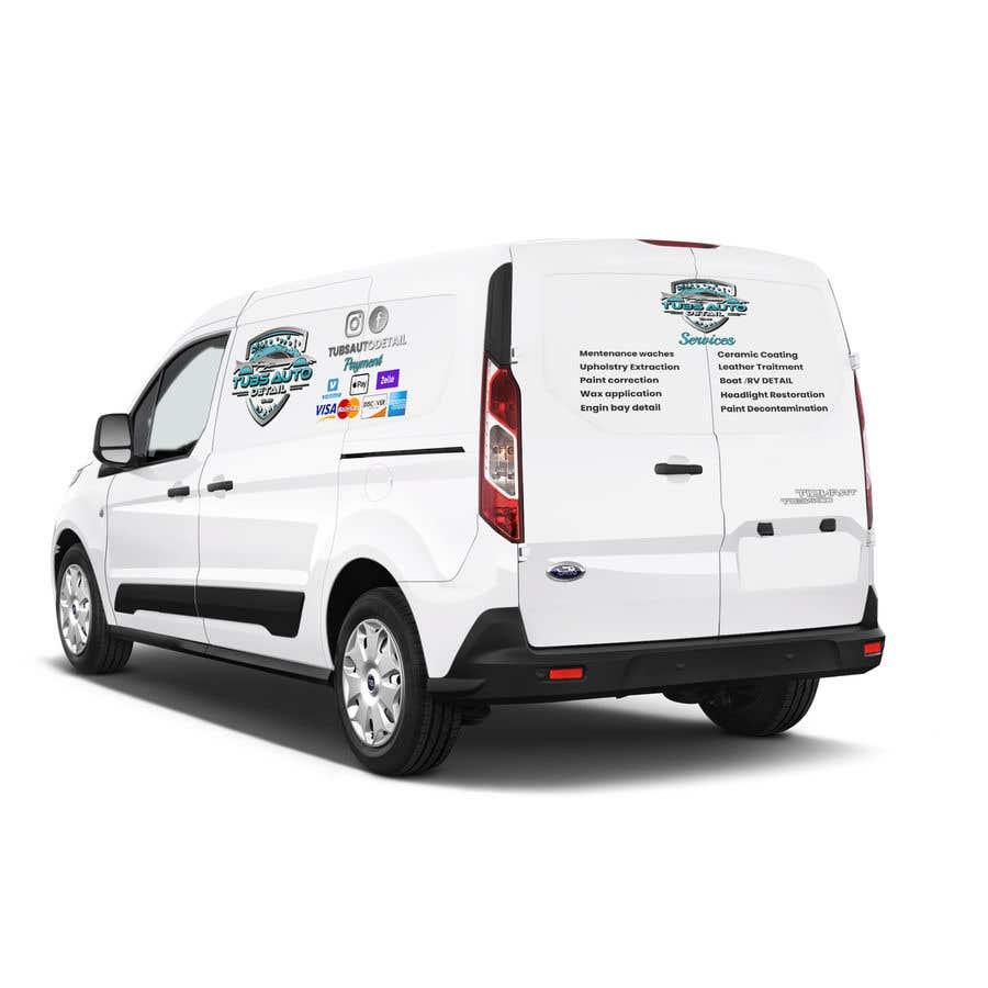 Конкурсная заявка №                                        6                                      для                                         Need a Design made for my Van's Wrap