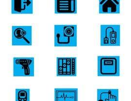 #15 untuk Medical Sensor Icons oleh MAHIN747