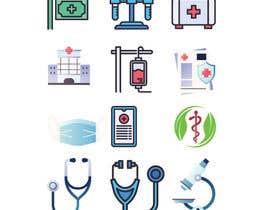 #23 for Medical Sensor Icons by liakotjgd73