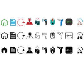 #16 for Medical Sensor Icons by nishpk98
