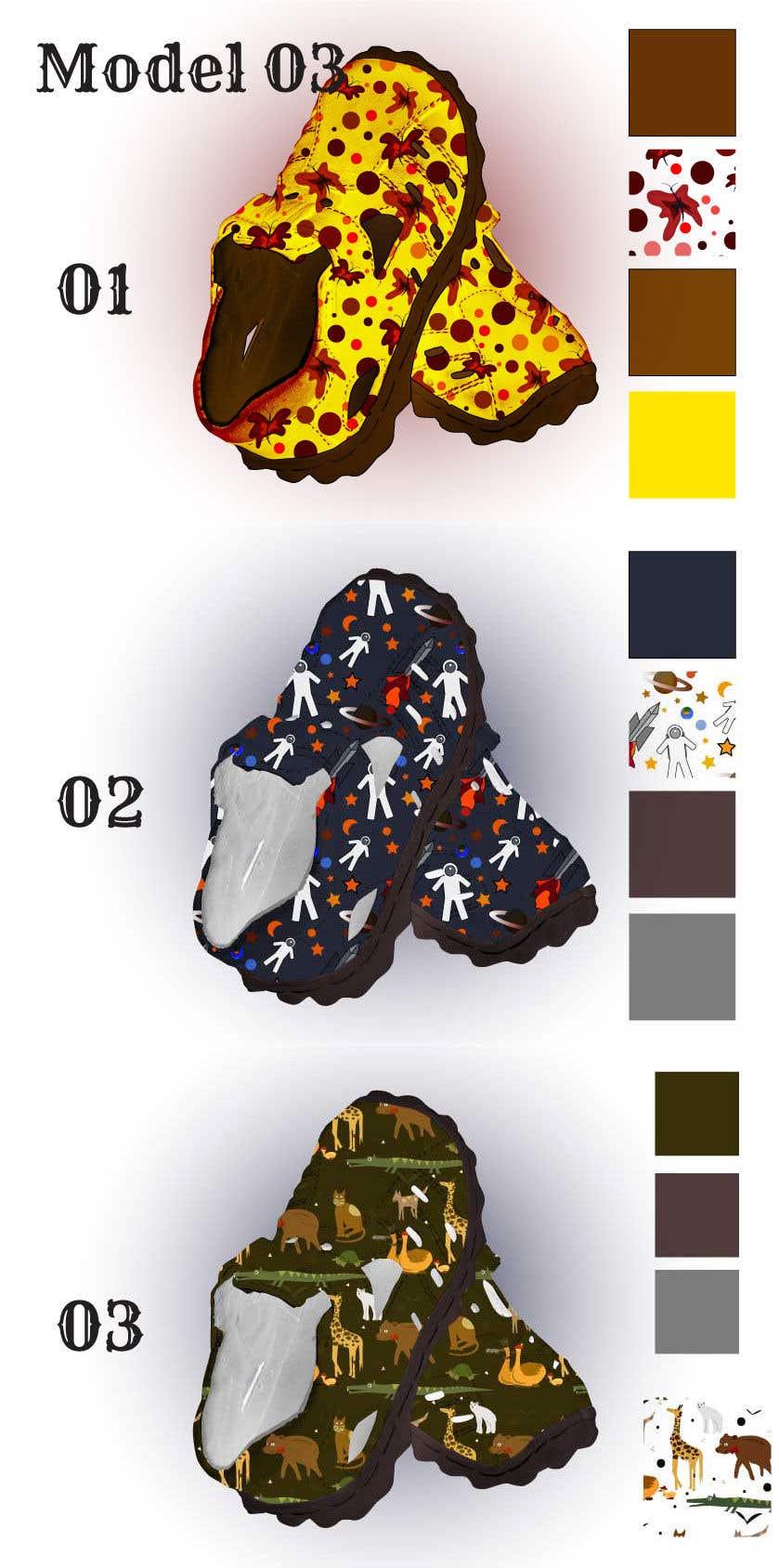 Contest Entry #                                        14                                      for                                         New Shoes design for Kids - Design 3-4 models