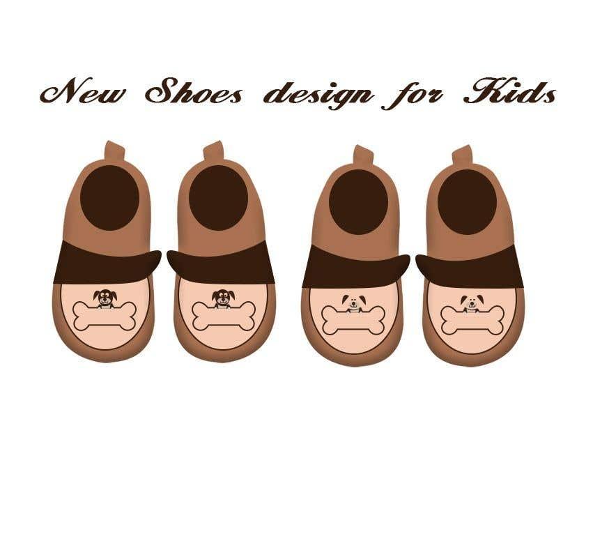 Contest Entry #                                        37                                      for                                         New Shoes design for Kids - Design 3-4 models