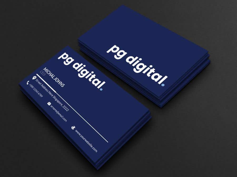 Bài tham dự cuộc thi #                                        120                                      cho                                         Business Card Design - PG