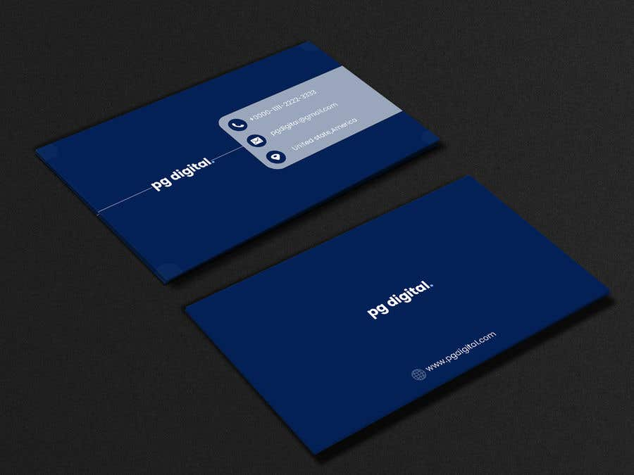 Bài tham dự cuộc thi #                                        68                                      cho                                         Business Card Design - PG