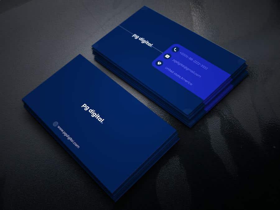 Bài tham dự cuộc thi #                                        69                                      cho                                         Business Card Design - PG