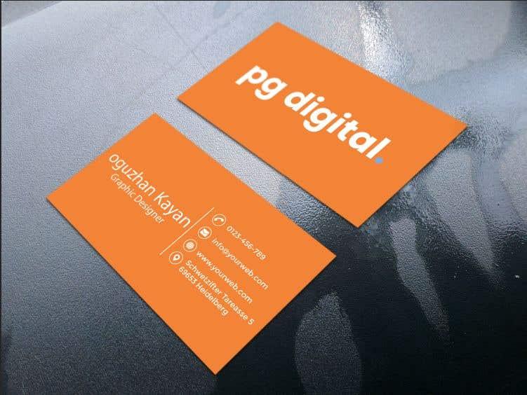Bài tham dự cuộc thi #                                        114                                      cho                                         Business Card Design - PG