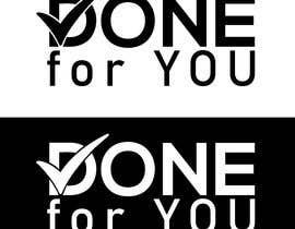 #169 untuk Done for You logo oleh farkhanda1143