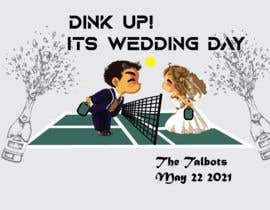 #71 cho Pickle Ball Wedding T Shirt Logo bởi nayemchowdhury49