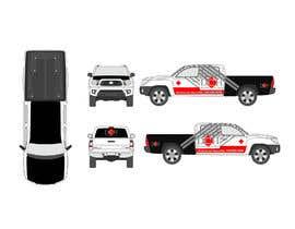 #12 untuk Vehicle Wrap Design DCH Enterprises oleh emonali55