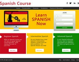 #12 for Online Spanish Course - Landing Page af avtar1073