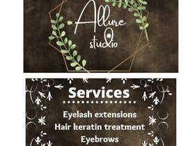 #384 untuk Beauty studio Logo and business card oleh Compliment1