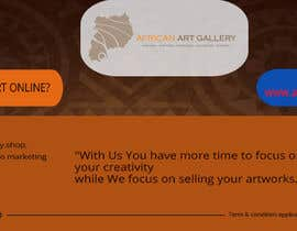 #15 for design a banner of an art gallery inviting artist to advertise on the marketplace af creativetanim525