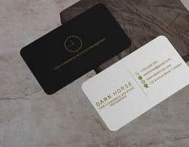 #392 untuk Dark Horse Logo and Business Card oleh rupaksarker