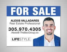 #5 untuk Alexis Valladares - FOR SALE Sign oleh Abid1679
