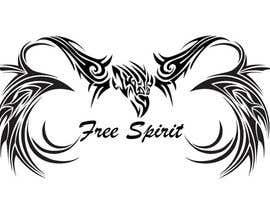 #21 untuk Free Spirit tattoo design oleh SheryVejdani