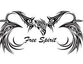nº 21 pour Free Spirit tattoo design par SheryVejdani