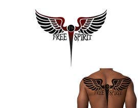 #28 for Free Spirit tattoo design by Power5
