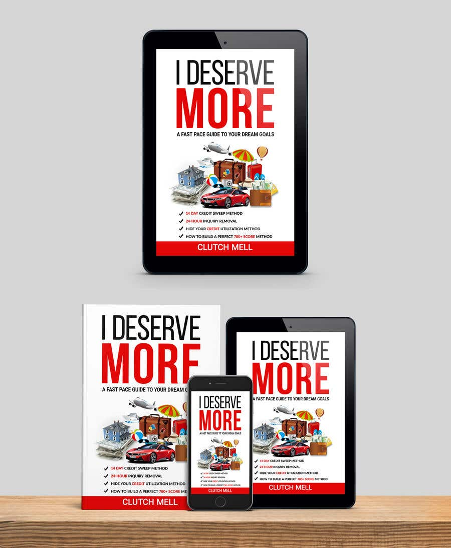 "Bài tham dự cuộc thi #                                        46                                      cho                                         Ebook Cover to ""I Deserve More"""