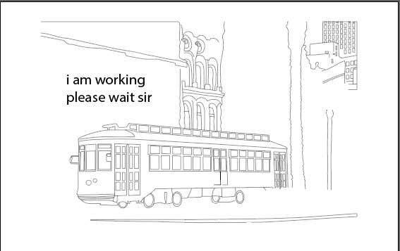 Inscrição nº                                         3                                      do Concurso para                                         Hand drawn coloring page