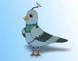 #18 untuk Create a robot bird cartoon oleh istykristanto