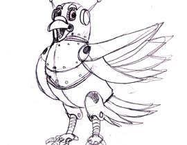 #22 untuk Create a robot bird cartoon oleh marstyson76