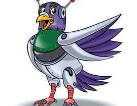 #24 untuk Create a robot bird cartoon oleh marstyson76