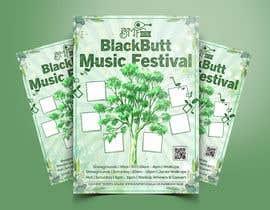 #159 untuk Blackbutt Music Festival Poster oleh migueldaconceica