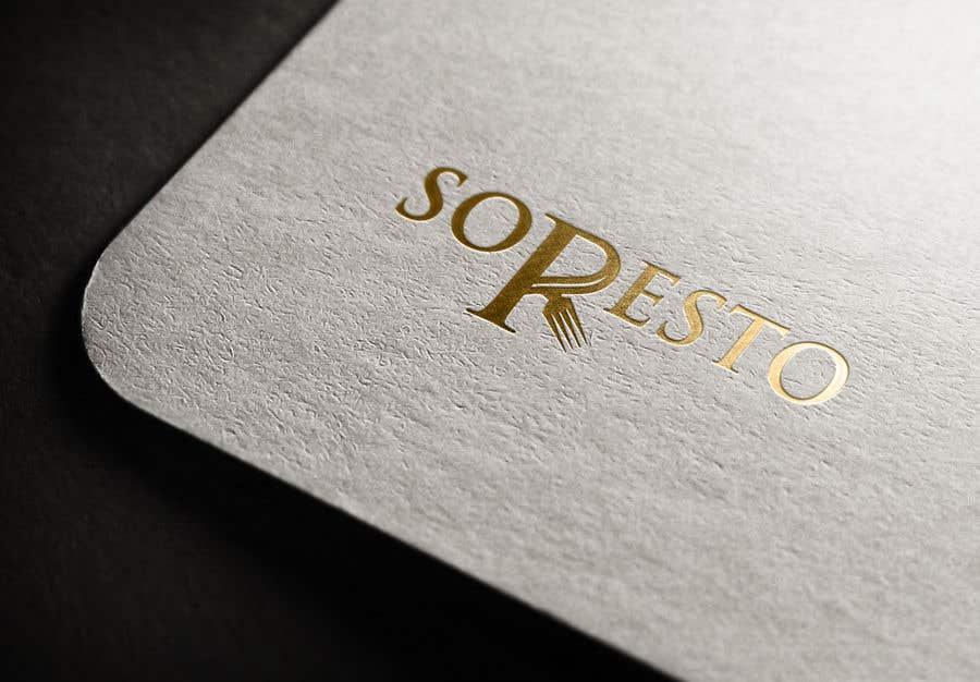 Penyertaan Peraduan #                                        428                                      untuk                                         Design logo for SORESTO