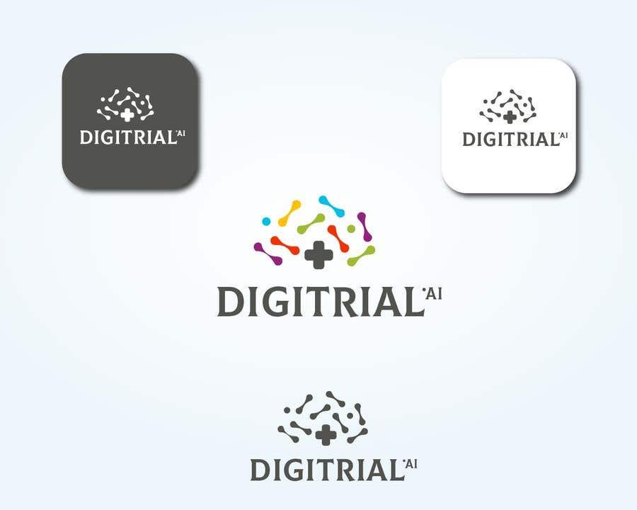 Penyertaan Peraduan #                                        85                                      untuk                                         Logo improvement for digitrial.ai