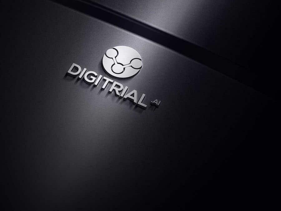 Penyertaan Peraduan #                                        133                                      untuk                                         Logo improvement for digitrial.ai