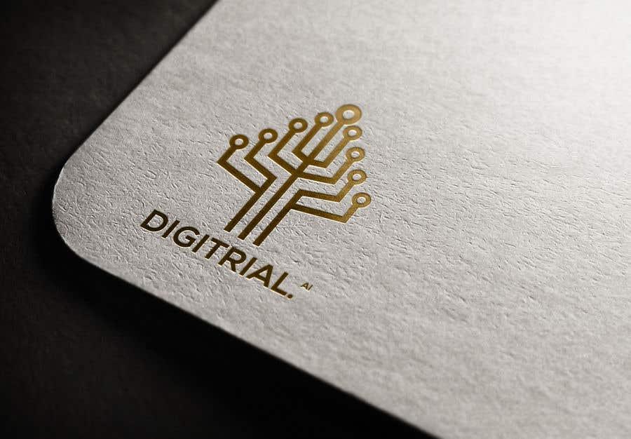 Penyertaan Peraduan #                                        196                                      untuk                                         Logo improvement for digitrial.ai