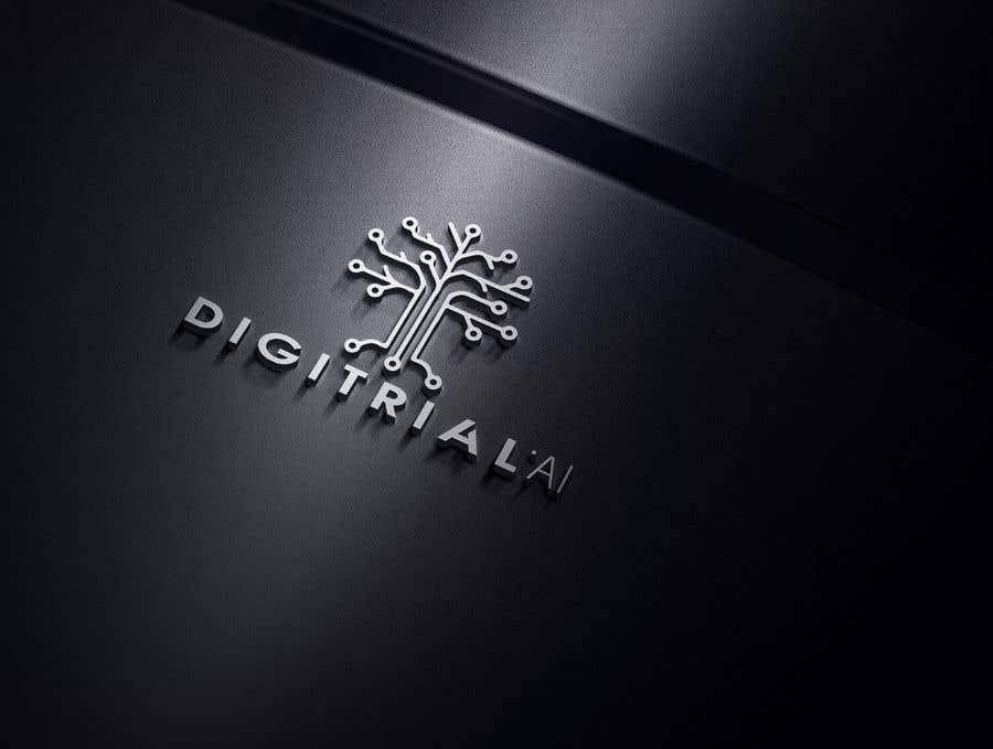 Penyertaan Peraduan #                                        129                                      untuk                                         Logo improvement for digitrial.ai