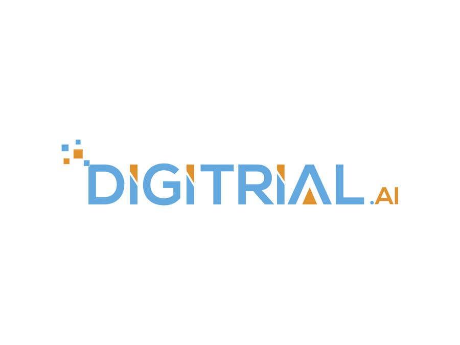 Penyertaan Peraduan #                                        51                                      untuk                                         Logo improvement for digitrial.ai