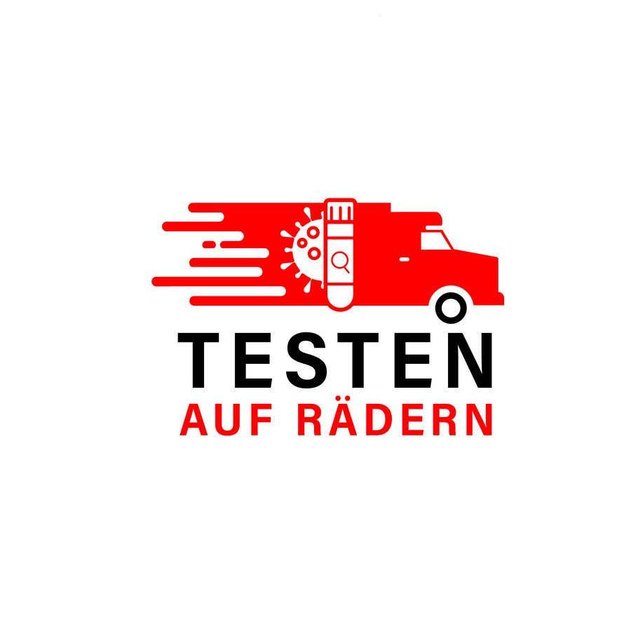 """Konkurrenceindlæg #                                        76                                      for                                         Logo for """"mobile COVID-test"""""""