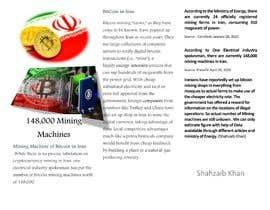 Nro 11 kilpailuun Market Research BITCOIN käyttäjältä ShahzaibKhan15