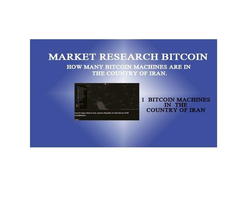 Proposition n°                                        24                                      du concours                                         Market Research BITCOIN